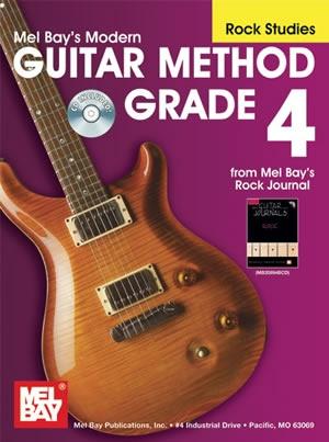 Mel Bay Modern Guitar Method: Book 4: Rock Studies