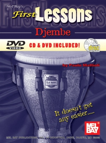 First Lessons Djembe  Bk&cd& Dvd