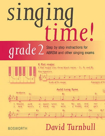 Singing Time: Grade 2: Voice, Piano Accompaniment (D Turnball)