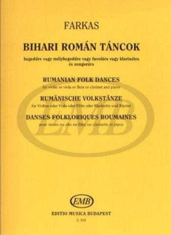 Rumanian Folk Dances: Violin and Piano