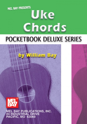 Pocketbook Deluxe Series : Uke Chords (William Bay)