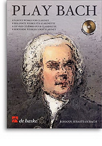 Play Bach: Clarinet Book & CD (De Haske)