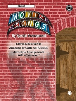 Movie Songs By Special Arrangement: Movie Songs: Clarinet: Book & CD
