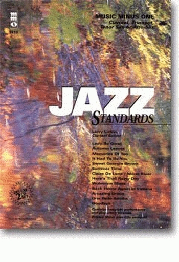Music Minus One: Jazz Standards With Rhythm: Clarinet: Book & CD