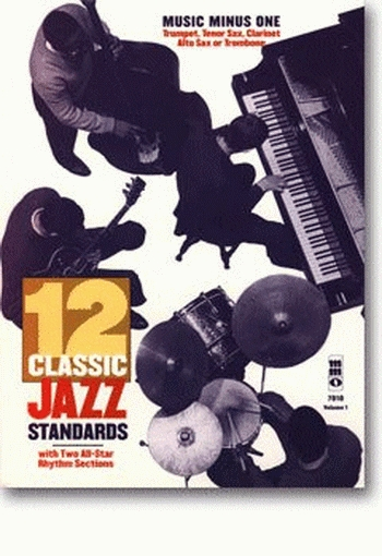 Music Minus One: 12 Classic Jazz Standards: Clarinet: Bk&cd (mmo)