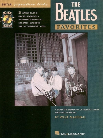 Signature Licks: Beatles Favourites: Guitar Tab: Book & CD