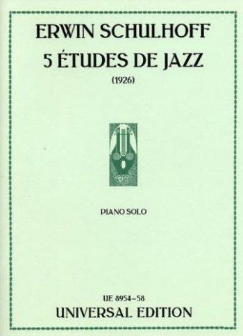 5 Etudes De Jazz - Piano  (Unviersal)