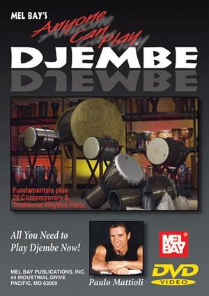 Anyone Can Play Djembe: DVD