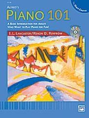 Alfred Piano 101: Short Course Lesson Book Piano: Bk&cd