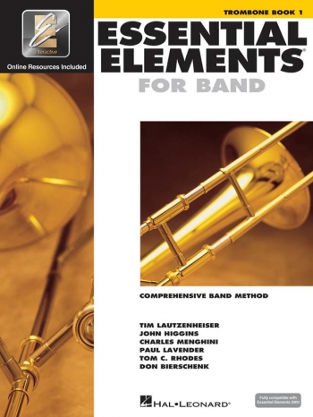 Essential Elements 2000 Book 1: Trombone Bass Clef: Tutor Book Download Or Order Free Cd Rom