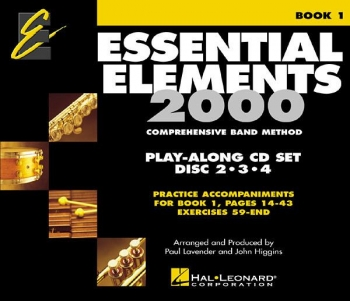 Essential Elements Book1 Track 2,3,4 - Play Along Trax - 3 Cds