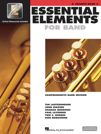 Essential Elements 2000: Book 2: Trumpet: Bb: Book & Audio
