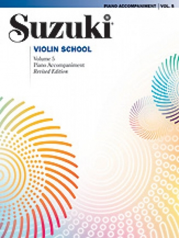 Suzuki Violin School Vol. 5 Violin Piano Accompaniment (Revised)