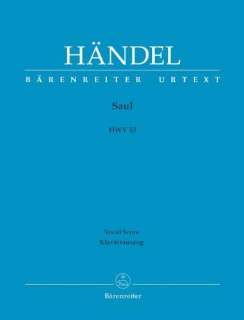 Saul: HWV53 Vocal Score (Barenreiter)