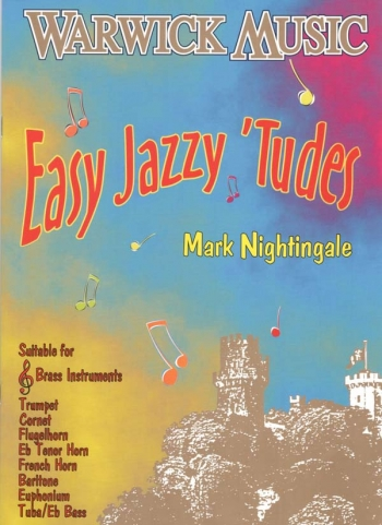 Easy Jazzy Tudes: Treble Clef Brass Instruments: Trumpet Book & Cd  (nighting