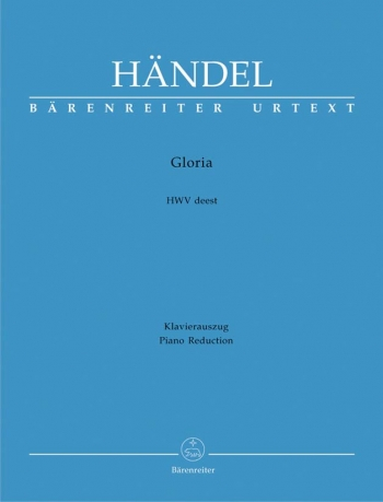 Gloria: Vocal Score