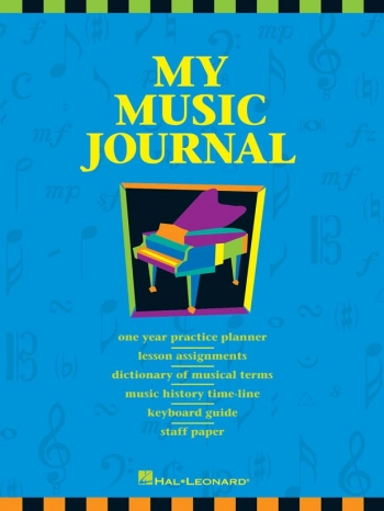 Manuscript - Hal Leonard - My Music Journal