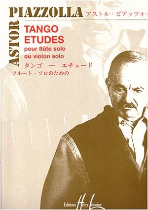 Tango Etudes: Flute Or Violin Solo (Lemoine)