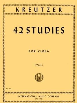 42 Studies: Viola (plagles) (International)