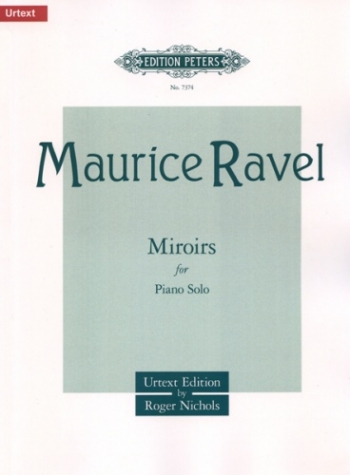 Miroirs: Piano  (Peters)