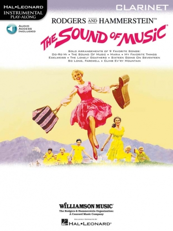 Sound Of Music: Clarinet: Book & CD