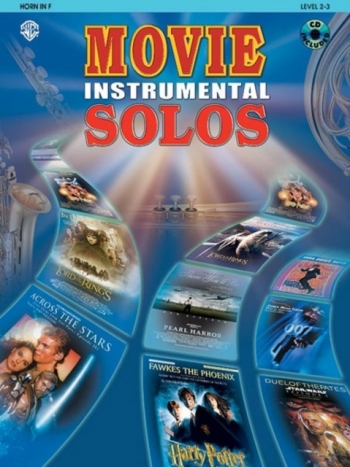 Movie Instrumental Solos: French Horn: Book & CD