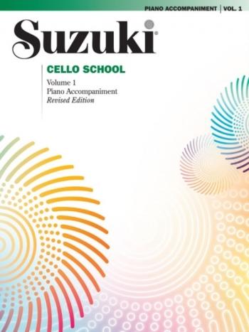 Suzuki Cello School Vol.1 Piano Accompaniment (Revised)