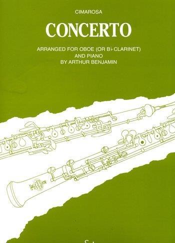 Concerto: Oboe & Piano (B&H)