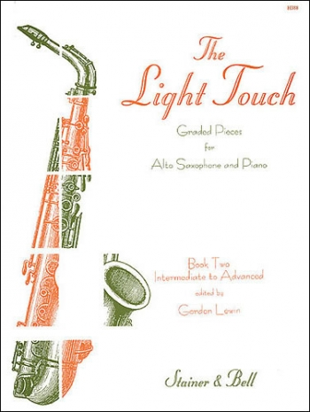 Light Touch: Book 2 : Alto Saxophone And Piano