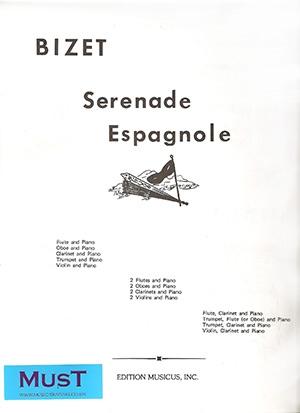 Serenade Espagnole: Violin Flute Or Oboe