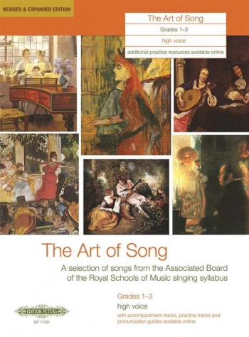 Art Of Song: Grade 1-3: High Voice: Revised And Expanded