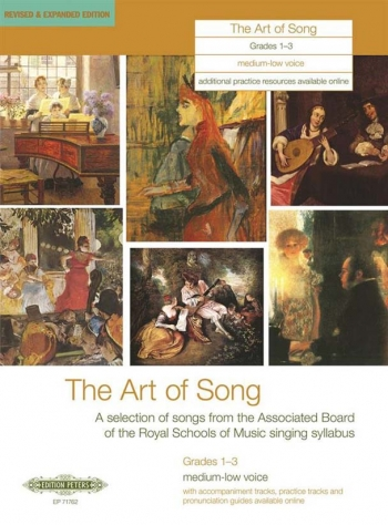 Art Of Song: Grade 1-3: Medium  Low Voice: Revised And Expanded