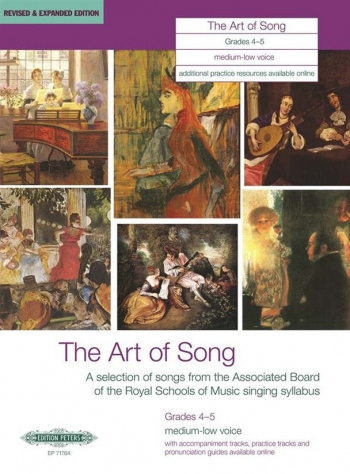 Art Of Song: Grade 4-5: Medium Low  Voice: Revised And Expanded
