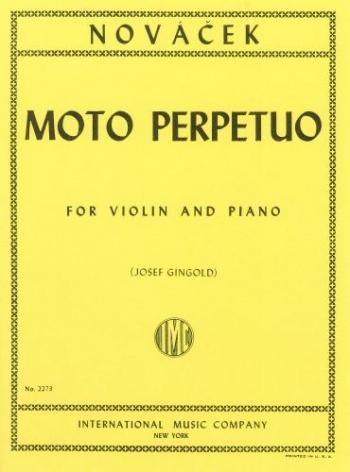Moto Perpetuum: D Minor: Violin and Piano
