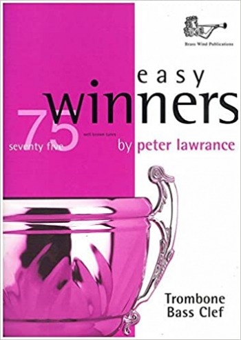 Easy Winners: Trombone Bass Clef: Book & Cd   (lawrance)