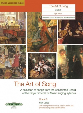 Art Of Song: Grade 8: High Voice: Revised And Expanded