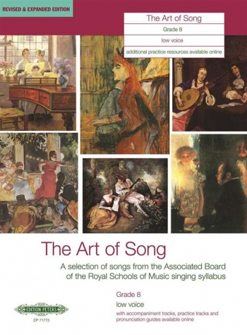 Art Of Song: Grade 8: Low Voice: Revised And Expanded