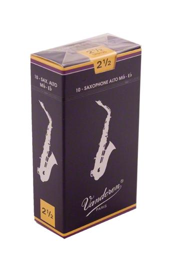 Vandoren Traditional Alto Saxophone Reeds