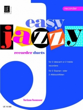 Easy Jazzy Duets: Descant Recorders