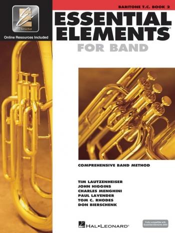 Essential Elements 2000: Book 2: Baritone: Treble Clef: Book & Cd