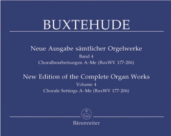 Complete Organ Works Vol.4  (Barenreiter)
