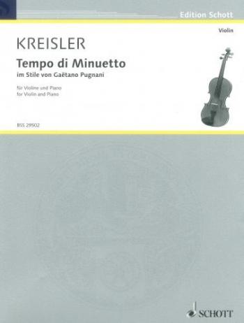Tempo Di Minuetto: Violin and Piano