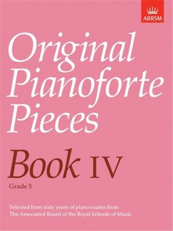 Original Pianoforte Pieces: Book 4