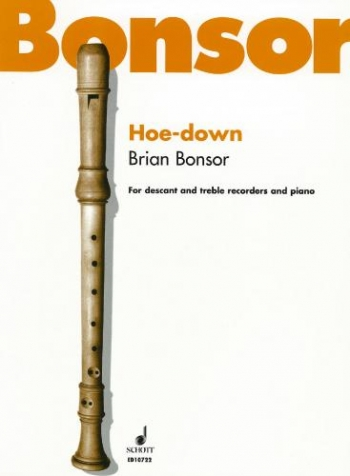 Hoe Down: 2 Recorders (SA) Descant & Treble And Piano
