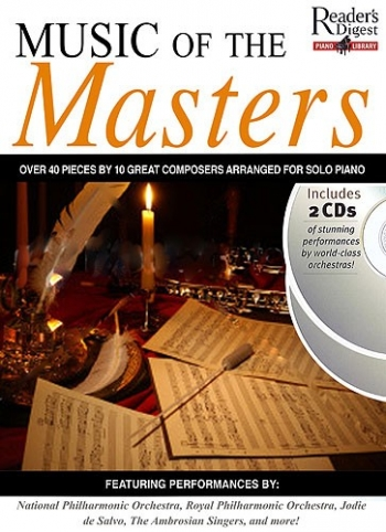 Music Of The Masters: 40 Masterpieces: Readers Digest Piano Library: Piano