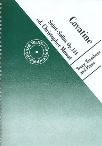 Cavatine Op144: Trombone & Piano (Brasswind)