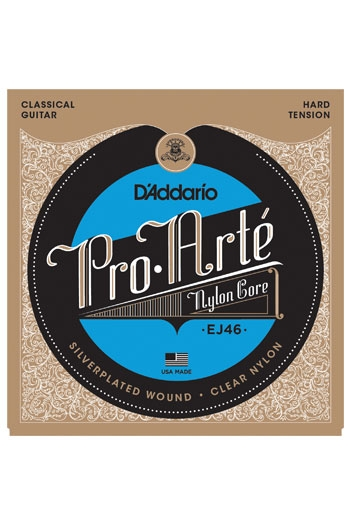 D'Addario Classical Guitar Ej46 Pro-Arte Nylon Hard Tension