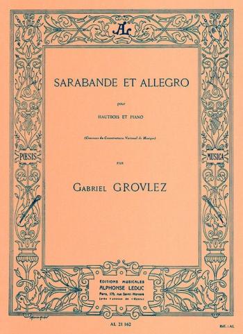 Sarabande and Allegro: Oboe & Piano