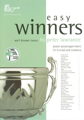 Easy Winners: Treble Brass Piano Accompaniment For Trumpet Or Trombone