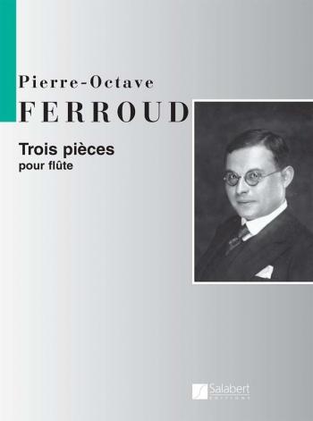 3 Pieces For Flute (Salabert)